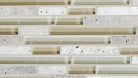Stone, Glass, Travertine