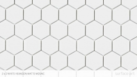 2 x 2 Hex all White